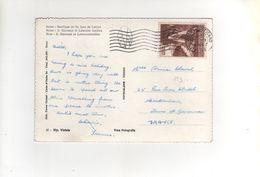 Timbre Yvert N° 253 Sur Carte , Postcard Du 02/04/1959 - Vatican