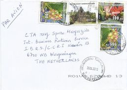 Madagascar 2013 Tsaralalana Architecture Tree Physena Sessiliflora Ar100 Endemic Asteropeia Amblyocarpa Ar500 Cover - Madagaskar (1960-...)