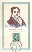 82743 ARGENTINA PATRIOTIC BERNARDINO RIVADAVIA POLITICO PRESIDENTE NO POSTAL TYPE POSTCARD - Ansichtskarten