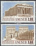 Frankreich DB39-DB40 (kompl.Ausg.) Postfrisch 1987 UNESCO-Bauten - France