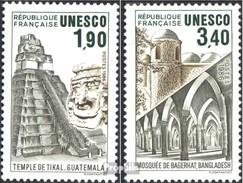 Frankreich DB37-DB38 (kompl.Ausg.) Postfrisch 1986 UNESCO-Bauten - France