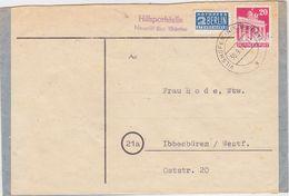 "GERMANY 1949 (30.9.) COVER CONVENT NEUSTIFT AUXIL.P.O. ""Neustift"" üb. VILSHOFEN/Nby. - Allemagne"