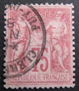 LOT R1576/66 - SAGE Type II N°81 - CàD CLERMONT-FERRAND (Puy De Dome) - Cote : 150,00 € - 1876-1898 Sage (Type II)
