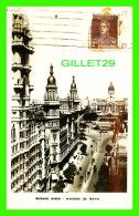 BUENOS AIRES, ARGENTINE - AVENIDA DE MAYO - TRAVEL -  ANIMATED - EDICION G. BOURQUIN Y CIE - - Argentine