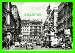 GRABEN, WIEN, AUTRICHE - MIT PESTSAULE - ANIMATED - - Vienne