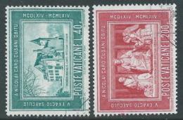 1964 VATICANO USATO CARDINALE CUSANO - X16-9 - Oblitérés