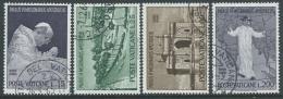1964 VATICANO USATO VIAGGI DEL PAPA PAOLO VI IN INDIA - X16-9 - Oblitérés