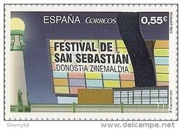 2015-ED. 4990 Cine Español. Festival De San Sebastián -NUEVO - 1931-Today: 2nd Rep - ... Juan Carlos I