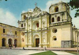 Antigua Guatemala (Guatemala) Iglesia La Merced, La Merced Church - Guatemala