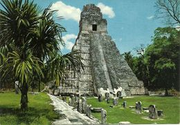 "Tikal Petén (Guatemala) Templo Gran Jaguar, ""Giant Jaguar"" Temple - Guatemala"