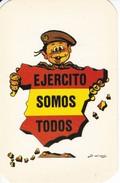 CALENDARIO DEL AÑO 1988 DEL EJERCITO ESPAÑOL (CALENDRIER-CALENDAR) EJERCITO SOMOS TODOS - Calendarios