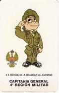 CALENDARIO DEL AÑO 1983 DE CAPITANIA GENERAL 4ª REGION MILITAR (CALENDRIER-CALENDAR) EJERCITO - Calendarios