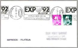 EXPO'92 - SEVILLA. Santa Coloma De Gramanet 1987 - 1992 – Sevilla (España)