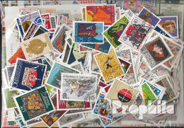 Liechtenstein Briefmarken-500 Verschiedene Marken - Liechtenstein