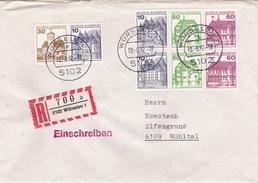 R-BRief Von Würselen, Marken Aus MH (br1946) - BRD