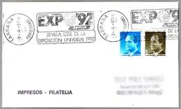 EXPO'92 - SEVILLA. Tarrasa, Barcelona, 1987 - 1992 – Sevilla (España)