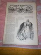 Journal De La Famille ( MODE  ILLUSTREE  36em Année ) No  36 ( Avec Planche De Broderie En Couleurs ) Le 8  Sept 1895 - 1850 - 1899