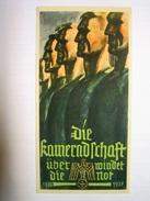 Winterhilfswerk (WHW)  Türplakette November 1936,  Tieste 620.02,  80 X150 Mm - Documents