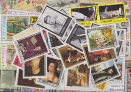 Manama Briefmarken-500 Verschiedene Marken - Manama