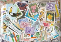 Kuba Briefmarken-1.500 Verschiedene Marken - Collections, Lots & Séries