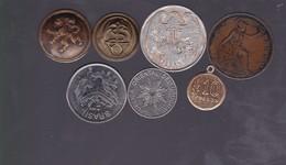 MEDALLAS Y MONEDAS COINS AND BUTTONS MEDAILLES ET PIECES LOTE  - BLEUP - Argentinië