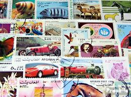 Afghanistan 500 Verschiedene Marken - Afghanistan
