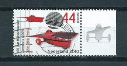 2009 Netherlands Solarauto+tab Used/gebruikt/oblitere - Periode 1980-... (Beatrix)