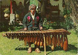 Guatemala (Guatemala) Marimba De Tecomates, Native Indian Playing Typical Marimba Instrument, Thematic Stamps - Guatemala