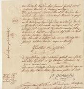 Acte Notaire Moors Beeringen Beringen - Manuscripts