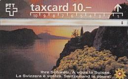 11201-TAXCARD - SVIZZERA-USATA - Suisse
