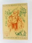 Winterhilfswerk (WHW)  Türplakette Oktober 1938,  Tieste 631,  75 X 105 Mm - Documents