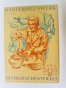 Winterhilfswerk (WHW)  Türplakette November 1938,  Tieste 632 - Documents