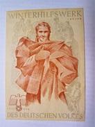 Winterhilfswerk (WHW)  Türplakette Januar 1939,  Tieste 634 - Documents