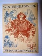 Winterhilfswerk (WHW)  Türplakette März 1939,  Tieste 636 - Documents