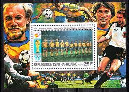 Rep. Central African   -   1981.  Sweden Team. BF MNH Rare - Coupe Du Monde
