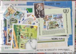 Salomoninseln Briefmarken-200 Verschiedene Marken - Isole Salomone (1978-...)