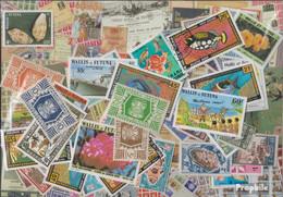 Wallis Und Futuna Briefmarken-100 Verschiedene Marken - Lots & Serien