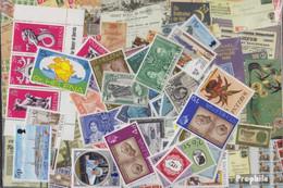 St. Helena Briefmarken-100 Verschiedene Marken - St. Helena