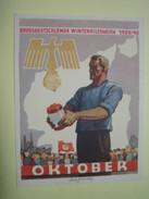 Winterhilfswerk (WHW)  Türplakette Oktober 1939,  Tieste 637.1,   84 X 113 Mm - Documents