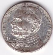 MEDALLA MEDAILLE MEDAL POPE PAPA ROMA SANTA SEDE JOANNES PAVLVSII PONT MAX  - BLEUP - Religión & Esoterismo