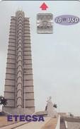 11204-SCHEDA TELEFONICA - CUBA-1995-USATA - Cuba
