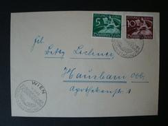 Deutsches Reich, Zeitungsmarken Mi-Nr Z738/9 Auf Brief/Streifband !! - Germania