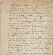Acte Notaire 1814 Famille Beckers De Beringen Beeringen Limbourg Limburg - Manuscripts