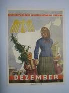 Winterhilfswerk (WHW)  Türplakette Dezember 1939,  Tieste 639.1 - Documents