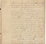 Acte Notaire 1838 Famille Beckers De Beringen Beeringen Limbourg Limburg - Manuscripts