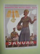 Winterhilfswerk (WHW)  Türplakette Januar 1940,  Tieste 640.1 - Documents