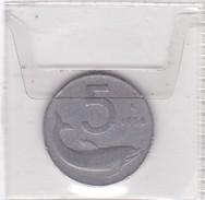 ITALIA   5 LIRE ANNO 1956  COME DA FOTO - 5 Lire