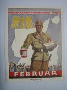 Winterhilfswerk (WHW)  Türplakette Februar 1940,  Tieste 641.1 - Documents