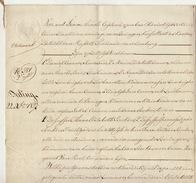 Acte Notaire 1838 Famille Leunen Lambrigts Beckers De Beringen Beeringen Limbourg Limburg - Manuscripts