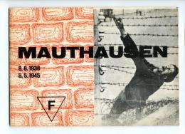 Document - Militaria - Mauthausen - Document Original Distribue A L Entree Du Camp De Mauthausen - 2Eme G.M. Lors Des Vi - 1939-45